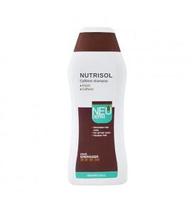 شامپو تقویت کننده کافئین نئودرم مدل Nutrisol مناسب انواع مو 300 میل