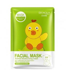 ماسک ترمیم منافذ باز صورت نقابی بیوآکوا حاوی پوست انار (جوجه)