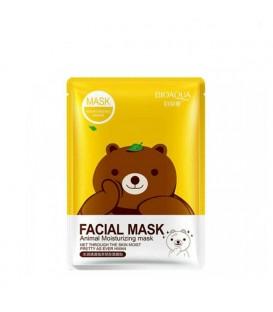 ماسک نقابی خرسی روشن کننده پوست بیوآکوا حاوی چای سبز (خرس)