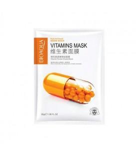ماسک ورقه ای ویتامین B2 بیوآکوا