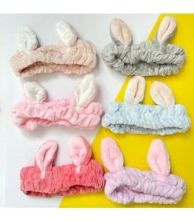 هد بند حوله ای مدل خرگوش