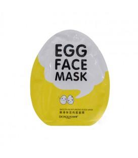 ماسک ورقه ای 25g تخم مرغ بیوآکوا Egg face mask