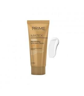 کرم ضد آفتاب بی رنگ جوان کننده پریم SPF50
