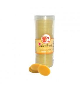 موم گرم سکه ای عسل 300 گرمی آذربیوتی